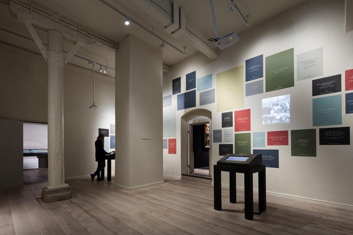 Cranach-Ausstellung Datenbank